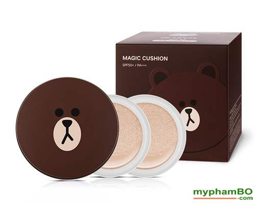 Phan Nuoc Missha M Magic Cushion Moisture gau Brown- Vit (6)