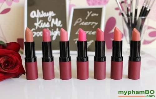 Son li mau nhung Golden Rose Velvet Matte Lipstick (2)
