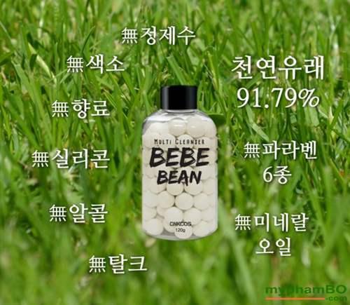 Tam trang mat Multi cleanser BeBe BEAN cnkcos Han Quoc (11)