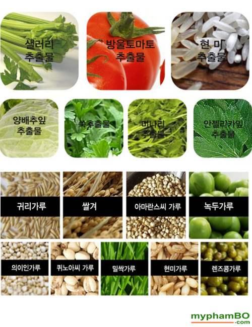 Tam trang mat Multi cleanser BeBe BEAN cnkcos Han Quoc (12)