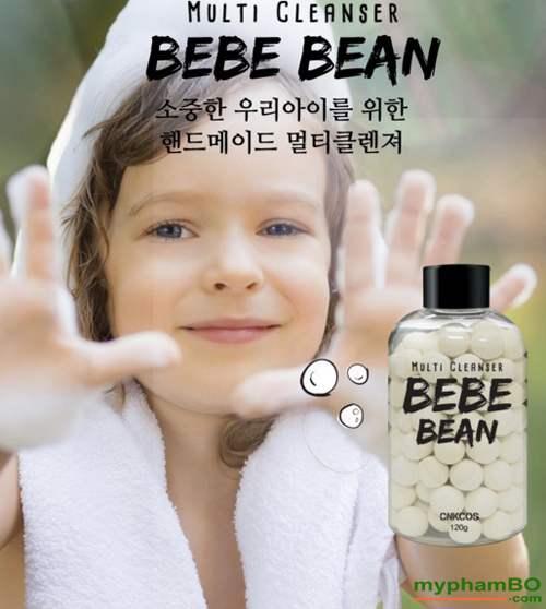Tam trang mat Multi cleanser BeBe BEAN cnkcos Han Quoc (5)