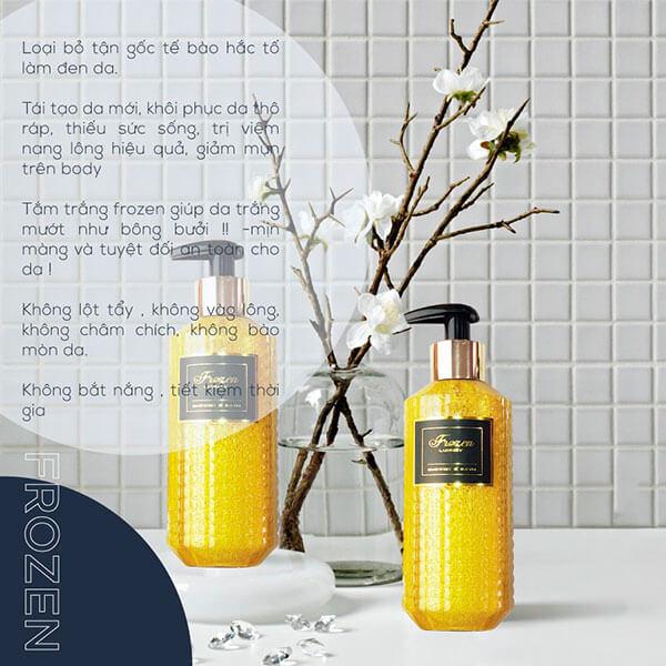 Sữa Tắm Trắng Frozen Shower & Bath 350ml