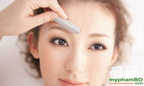 Dao cao chan may the face shop folding eyebrow trimmer (6)
