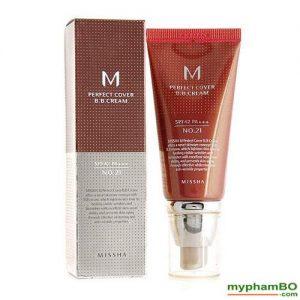 Kem BB Missha M Perfect Cover BB Cream SPF42PA++ 50ml (5)