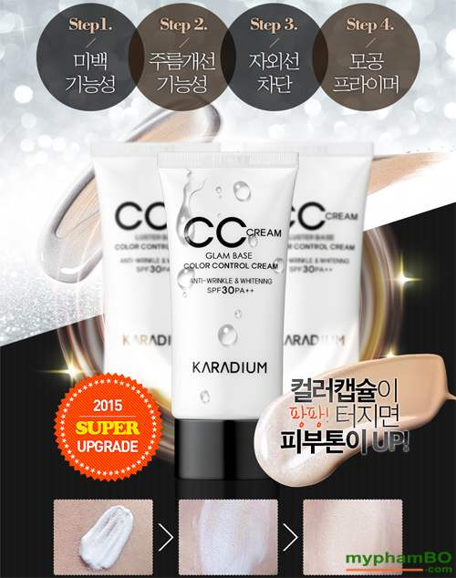 Kem nen CC Karadium Glam Base Color Control (5)