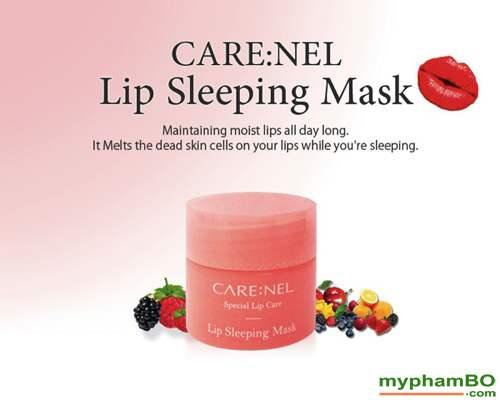 Mat Na Ngu Duong Va Tri Moi Tham CARENEL Lip Sleeping Mask 5g (1)
