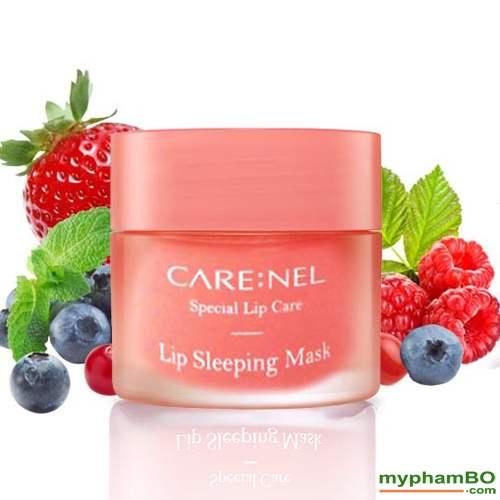 Mat Na Ngu Duong Va Tri Moi Tham CARENEL Lip Sleeping Mask 5g (2)