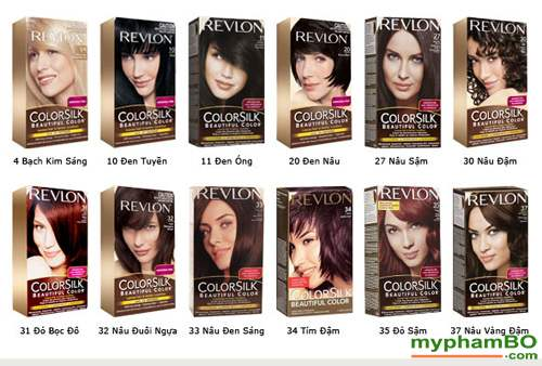 Thuoc nhuom toc REVLON Colorsilk (1)