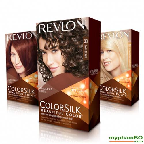 Thuoc nhuom toc REVLON Colorsilk (2)