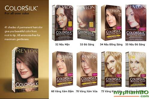 Thuoc nhuom toc REVLON Colorsilk (2)