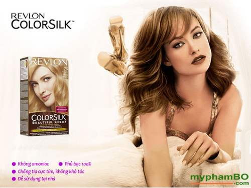 Thuoc nhuom toc REVLON Colorsilk (7)