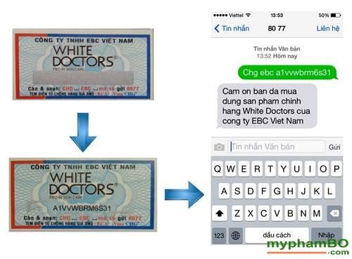 kem trang diem chong nang trang da mat white doctors (3)