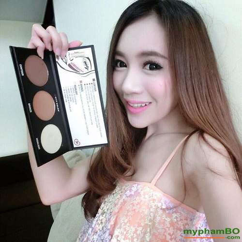 Bang phan tao khoi va Highlight City Color Contour Effects