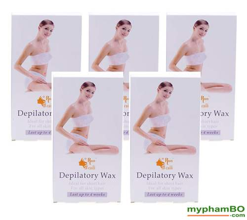 Bo 5 hop WAX long lanh Depilatory Wax (3)