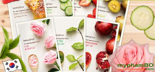 Mat na goi Innisfree It's real squeeze mask (1)