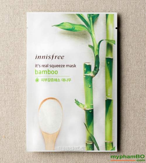 Mat na tre It's real squeeze mask Bamboo