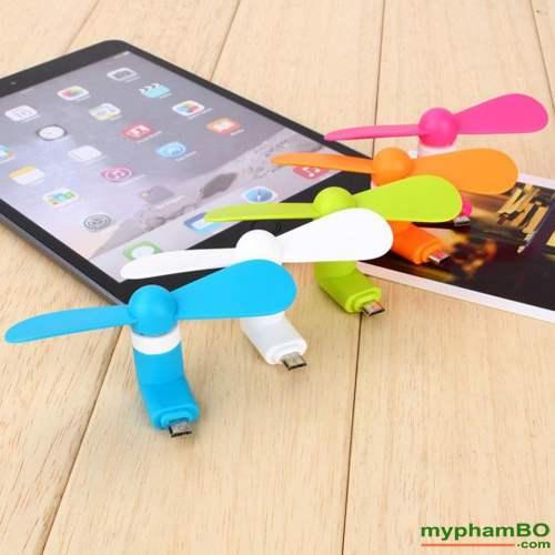 Quat Mini Usb 2 Canh Cam Dien Thoai Android Iphone (5)