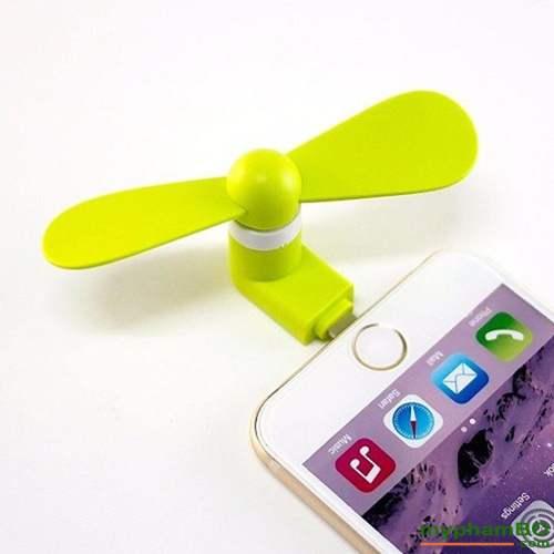 Quat Mini Usb 2 Canh Cam Dien Thoai Android Iphone (6)