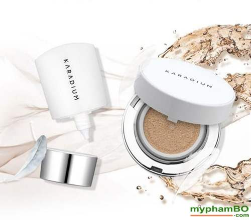 Set phan nuoc karadium real cushion foundation spf50+ pa (1)