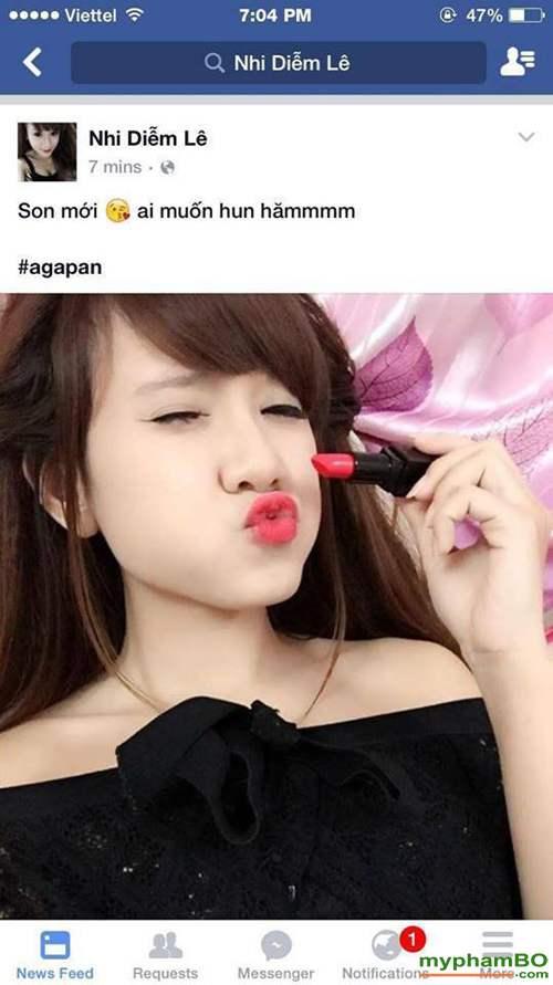 Son thoi agapan matte lipstick (4)