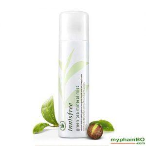 Xit khoang tra xanh INNISFREE Green Tea Mineral Mist 150ml (4)