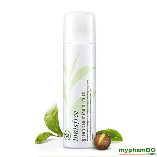 Xit khoang tra xanh INNISFREE Green Tea Mineral Mist 150ml (4)