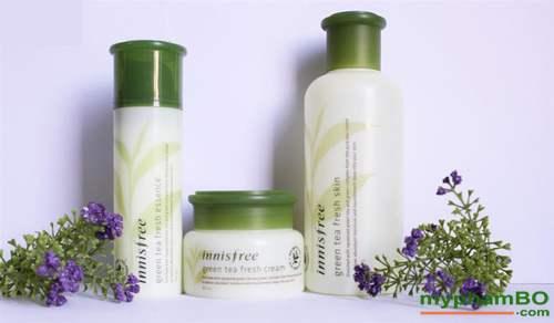 Bo duong da Innisfree tra xanh green tea fresh (4)