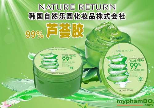 Gel lo hoi Aloe Fresh Soothing Moisture 99% (3)