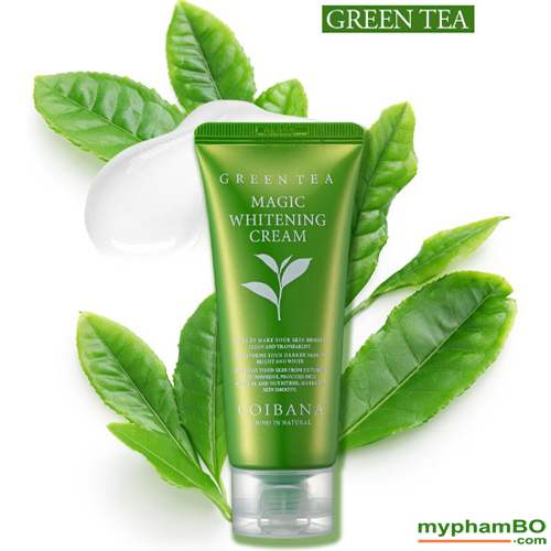 Kem Duong Trang Coibana Green Tea Magic Whitening (4)