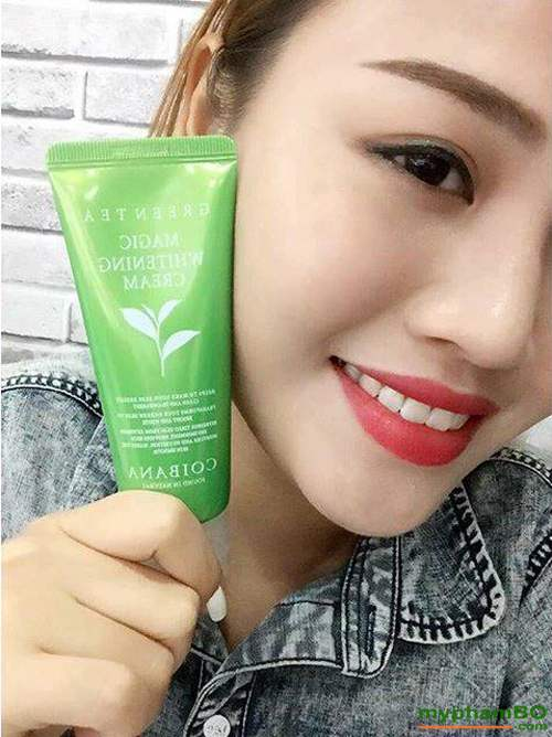 Kem Duong Trang Coibana Green Tea Magic Whitening (7)