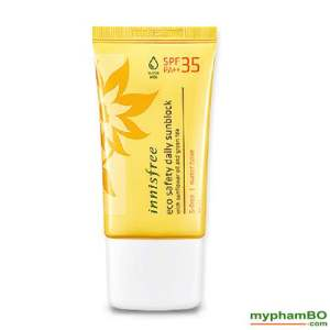 Kem chống nắng innisfree daily spf 35 (1)