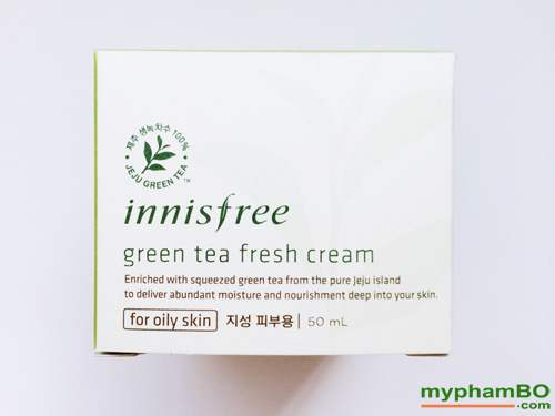 Kem duong tra xanh Green Tea Fresh Cream Innisfree (3)