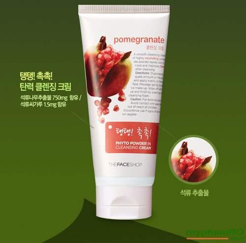 Kem tay trang Luu pomegranate The Face Shop (4)