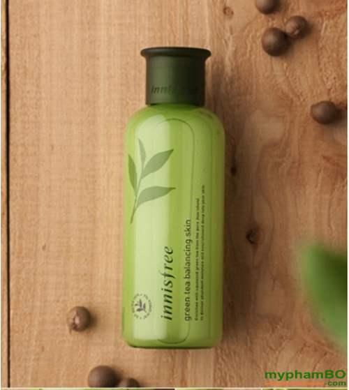 Nuoc hoa hong tra xanh Green Tea Balancing Skin Innisfree (5)