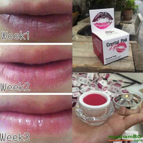Son duong tri tham moi Laila Crystal Pink Lip (2)