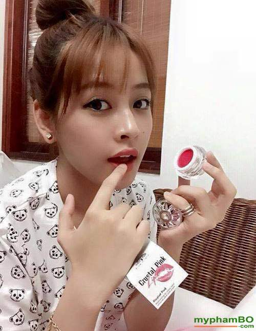Son duong tri tham moi Laila Crystal Pink Lip (5)Son duong tri tham moi Laila Crystal Pink Lip (5)