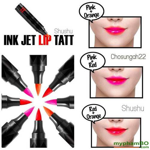 son dạ ver22 ink jet lip tatt
