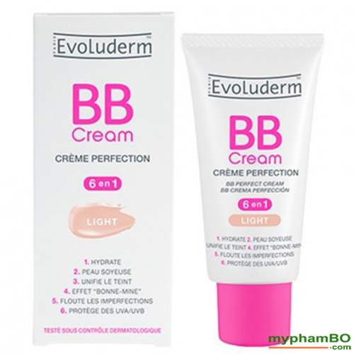 Kem BB evoluderm cream 6 in 1 50ml phap (1)
