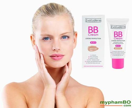 Kem BB evoluderm cream 6 in 1 50ml phap (2)