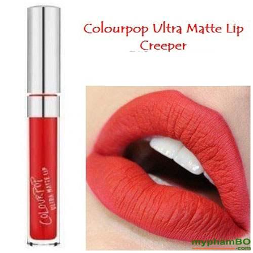 Son colourpop ultra matte lip Creeper