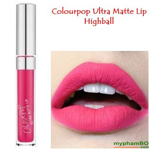 Son colourpop ultra matte lip Highball