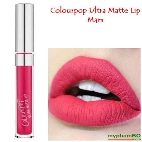 Son colourpop ultra matte lip Mars