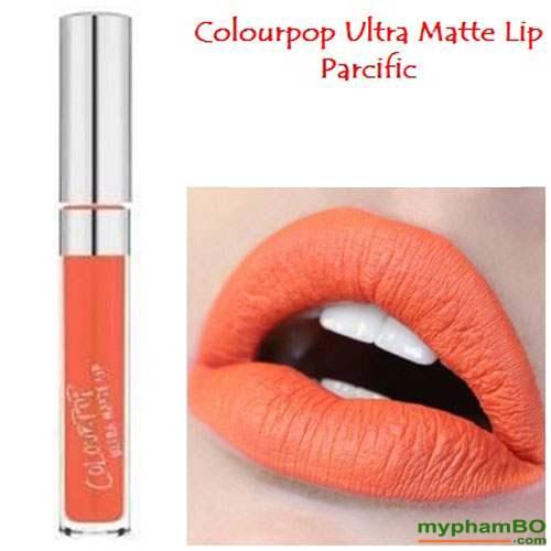 Son colourpop ultra matte lip Pacific