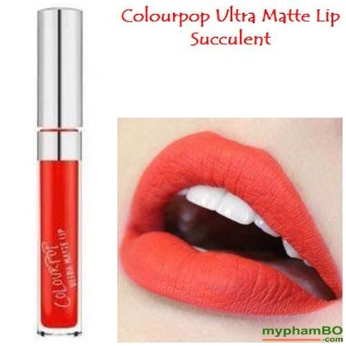 Son colourpop ultra matte lip Succulent