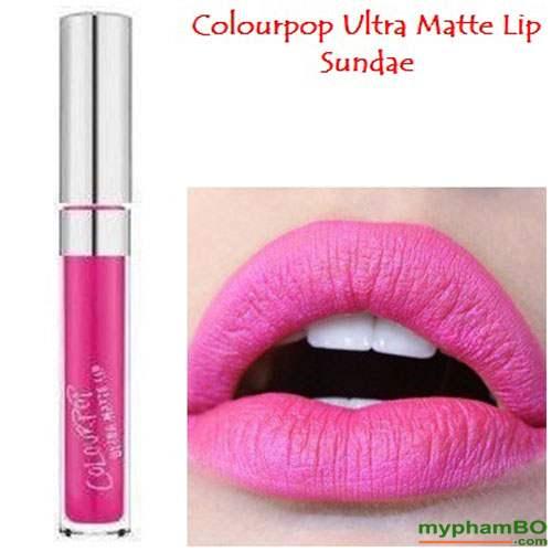 Son colourpop ultra matte lip Sundae