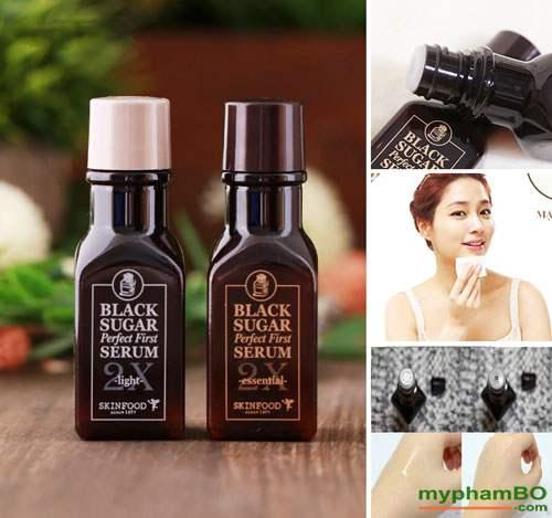 Tinh chất dưỡng đường đen skinfod black sugar serum 2X (1)
