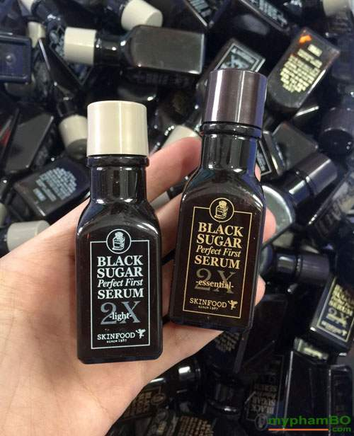 Tinh chất dưỡng đường đen skinfod black sugar serum 2X (2)
