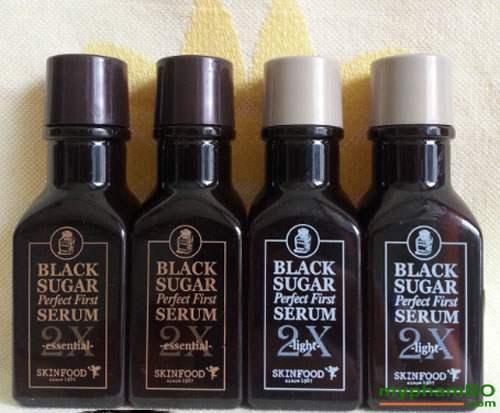 Tinh chất dưỡng đường đen skinfod black sugar serum 2X (4)