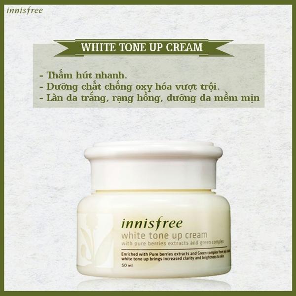Kem duong trang Innisfree White tone up cream (5)