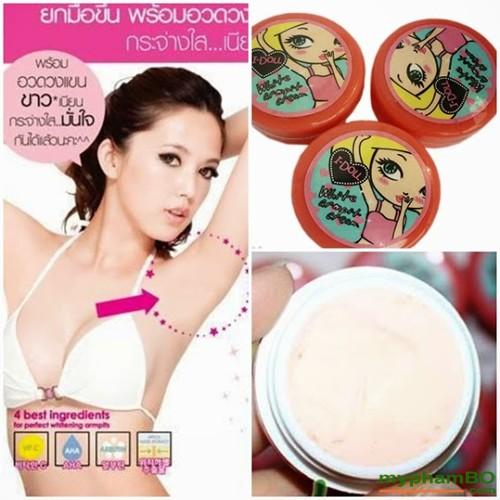 Kem tri tham nach IDOLL Thai lan white armpit cream (3)